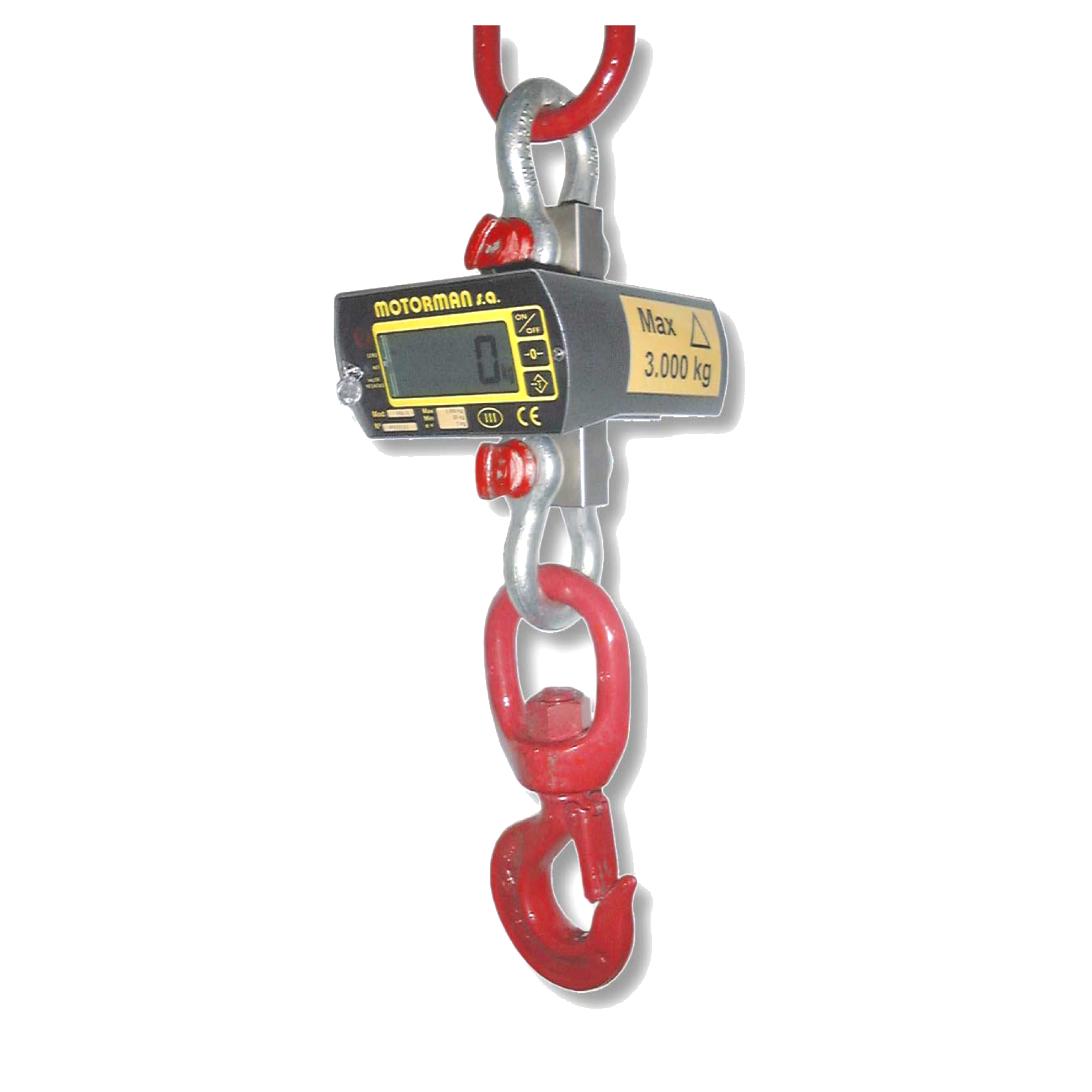 MK/X weighing hook